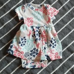 Carter's Newborn Floral Sunsuit outfit with Jacket